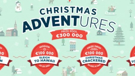 """Yggdrasil to give out a total of €300,000 via its festive """"Christmas ADVENTures"""" promotion"""