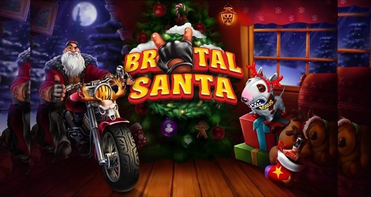 It pays to be naughty in Evoplay Entertainment's new holiday slot Brutal Santa