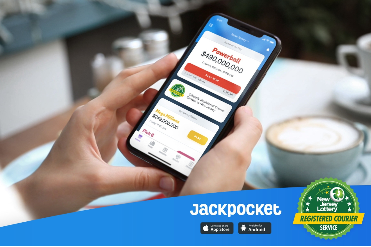 Jackpocket Launches Lottery App in New Jersey