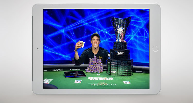 WPT Five Diamond World Poker Classic Win Sets Alex Foxen Up to win GPI Player of the Year 2019