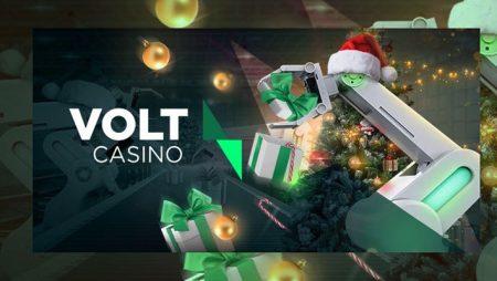 Volt Casino announces new Christmas Calendar Promotion titled Voltmas Workshop