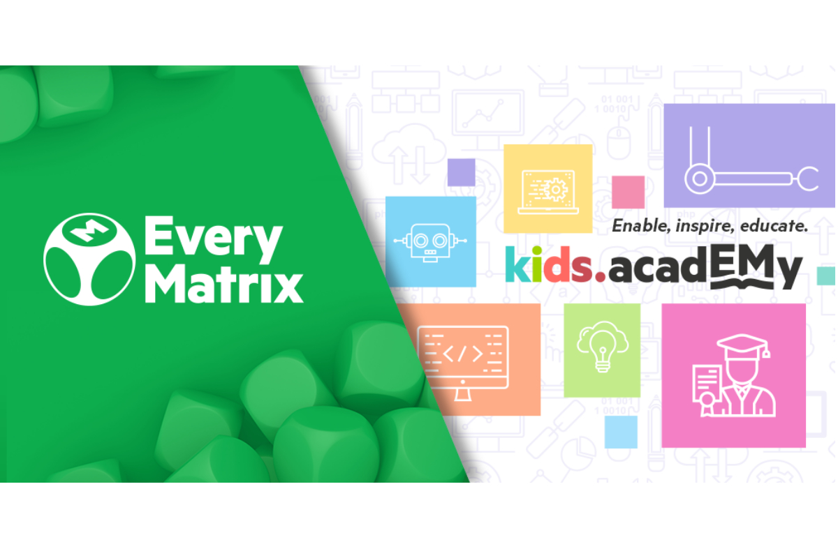 EveryMatrix celebrates 5 years of educational project Kids Academy