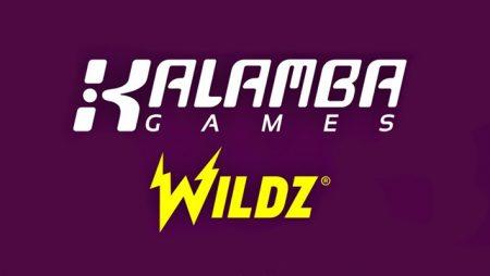 Kalamba Games goes live with Wildz Casino via new Rootz partnership deal