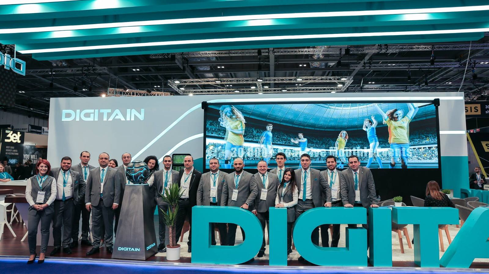 Leading provider, Digitain, prepares to stake claim as world's favourite software partner
