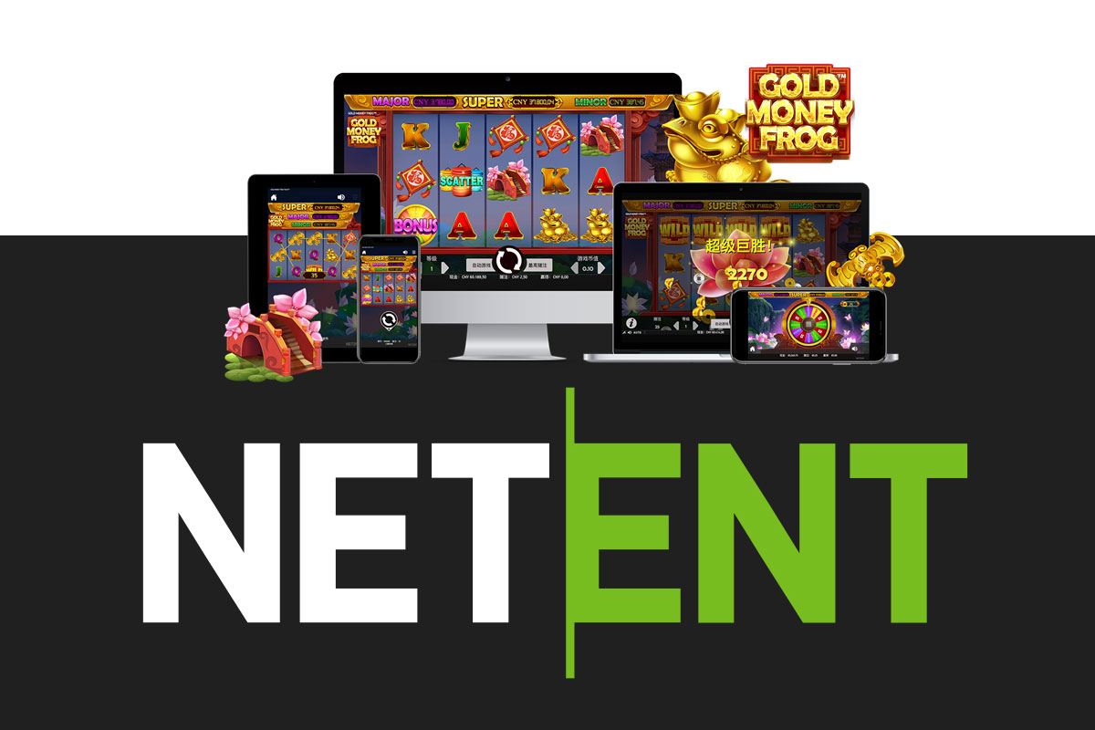 Get ready for triple Jackpot winnings in NetEnt's Gold Money Frog™