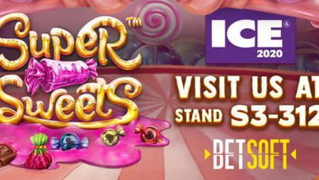 "Betsoft to unveil two new titles ""Super Sweets"" and ""Total Overdrive"" at ICE Totally Gaming"