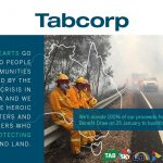 Tabcorp to donate more than $1.5 million to bushfire relief