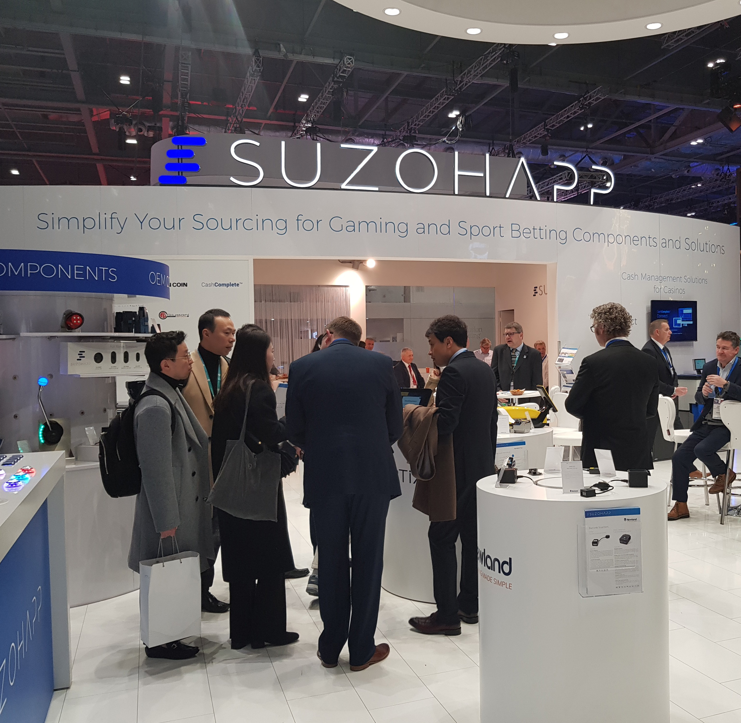 SuzoHapp - the most complete range of components
