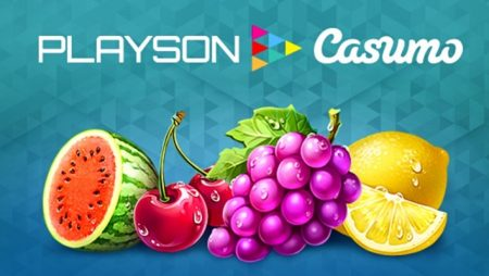 Casumo online casino to roll out Playson slots via content integration deal