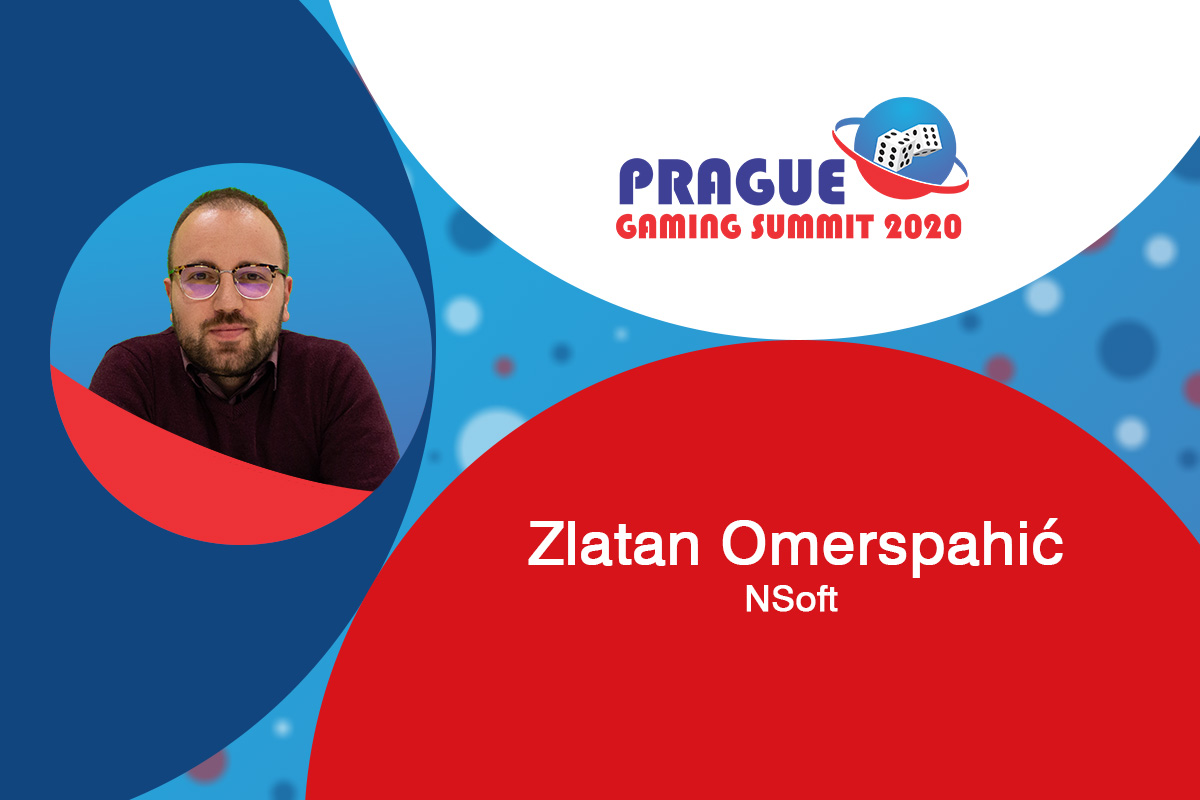 Prague Gaming Summit 2020 moderator profile: Zlatan Omerspahić (Head of Legal and Compliance, Data Protection Officer at NSoft)