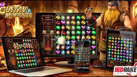 Red Rake Gaming goes underground with new Gustav Minebuster video slot