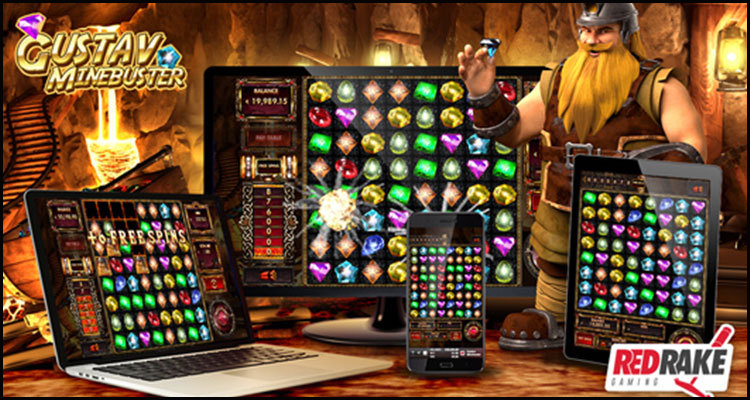 Red Rake Gaming goes underground with new Gustav Minebuster video slot