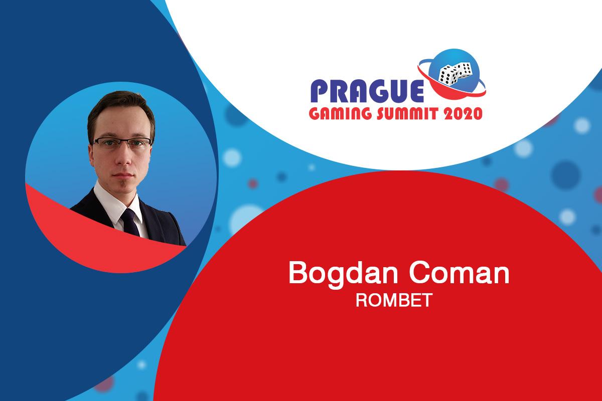 Prague Gaming Summit 2020 moderator profile: Bogdan Coman (Executive Director of ROMBET)