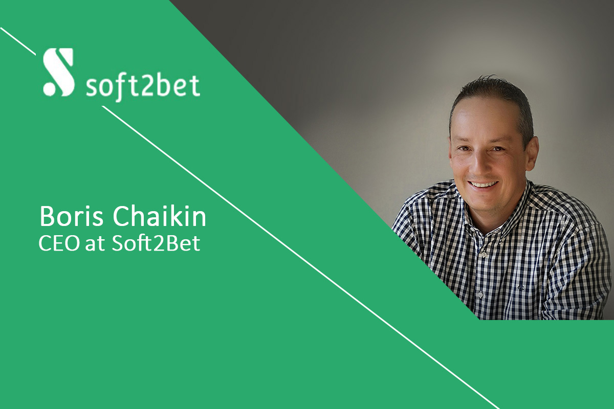 Exclusive Q&A with Boris Chaikin, CEO at Soft2Bet