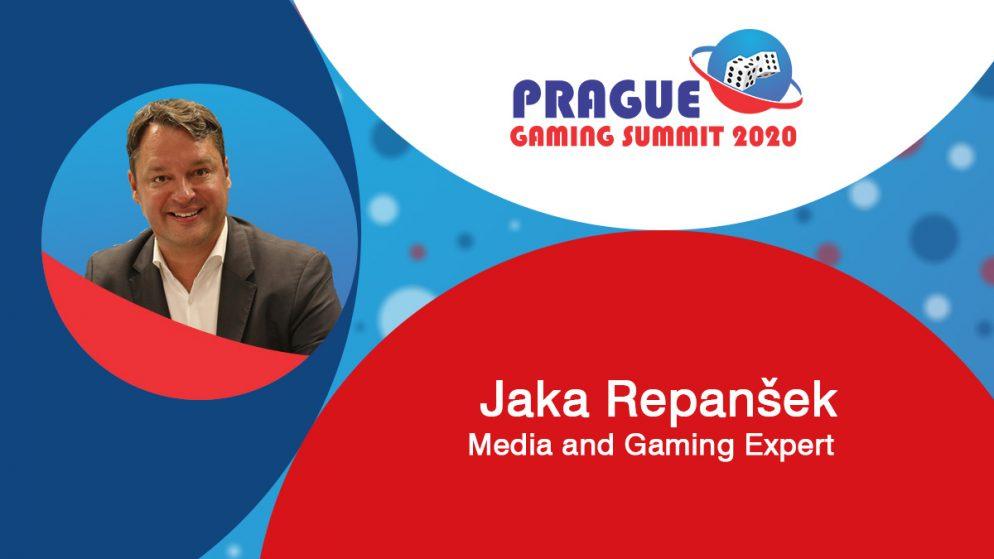 Prague Gaming Summit 2020 moderator profile: Jaka Repanšek (Media and Gaming Expert)