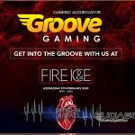 GrooveGaming to host Fire & Ice party at ICE 2020