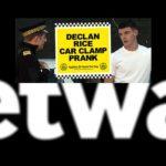 Betway Slammed for West Ham's Declan Rice Car Prank Video
