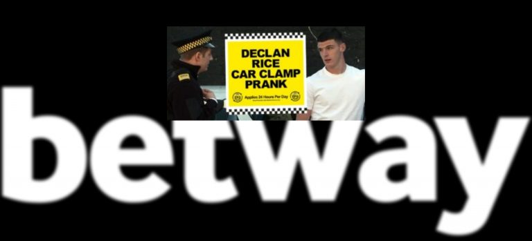 Betway Slammed for West Ham's Declan Rice Car Prank Video