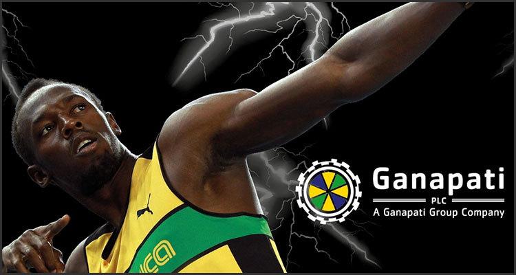 Ganapati bringing Jamaican track star Usain Bolt to ICE London
