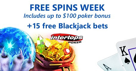 Double Win next week at Intertops Poker via slot and poker promotion