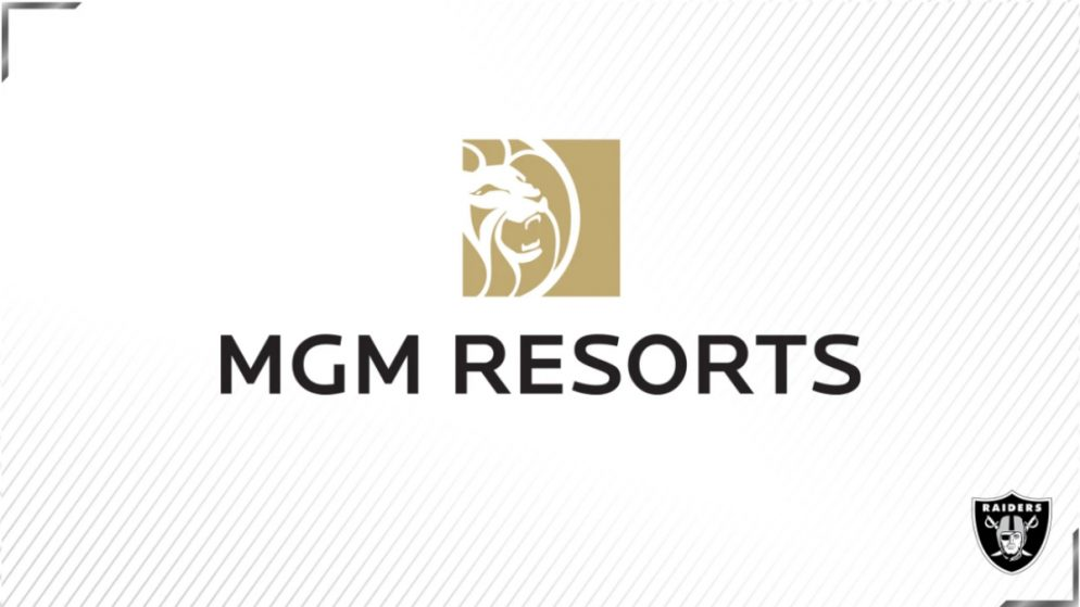 MGM RESORTS NAMED AN OFFICIAL GAMING PARTNER OF THE LAS VEGAS RAIDERS & FOUNDING PARTNER OF ALLEGIANT STADIUM