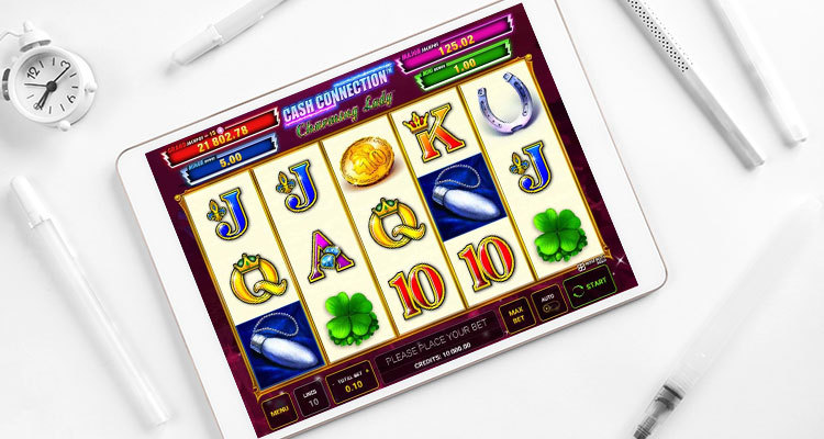 Greentube announces new Cash Connection Charming Lady slot game