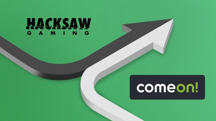 Hacksaw Gaming agrees content integration deal with Cherry AB subsidiary ComeOn