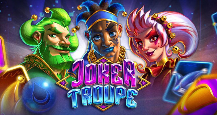 Push Gaming enhances the traditional joker online slot experience with Joker Troupe release