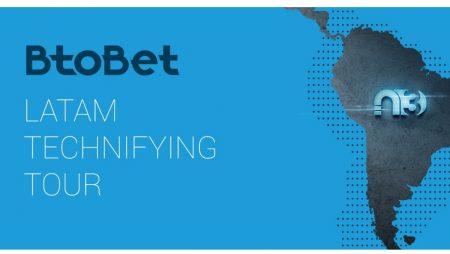 BtoBet announces LatAm technifying tour