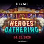 """Relax Gaming launches new """"board game inspired"""" slot Heroes' Gathering"""