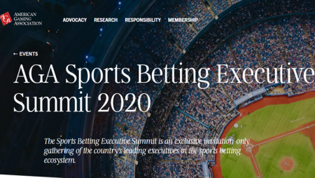 AGA Sports Betting Executive Summit 2020 set for March