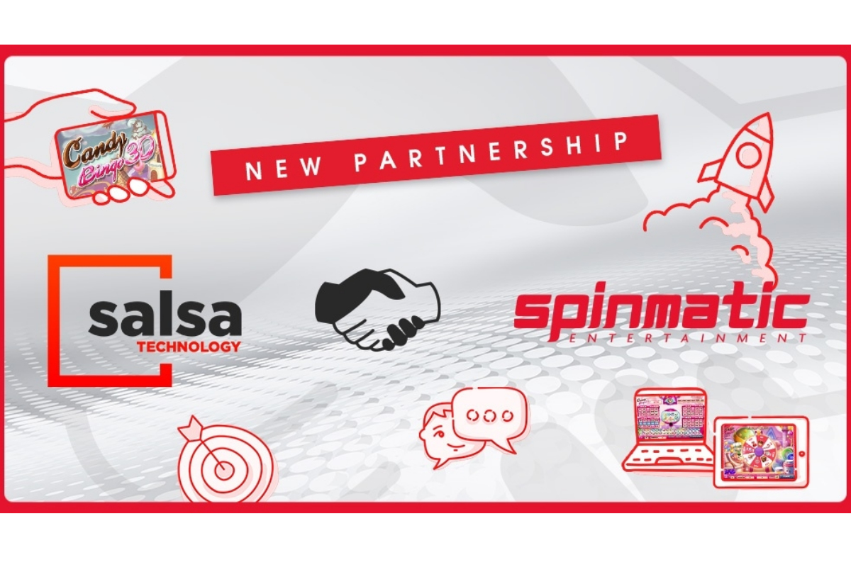 Salsa Technology Signs Content Deal with Spinmatic