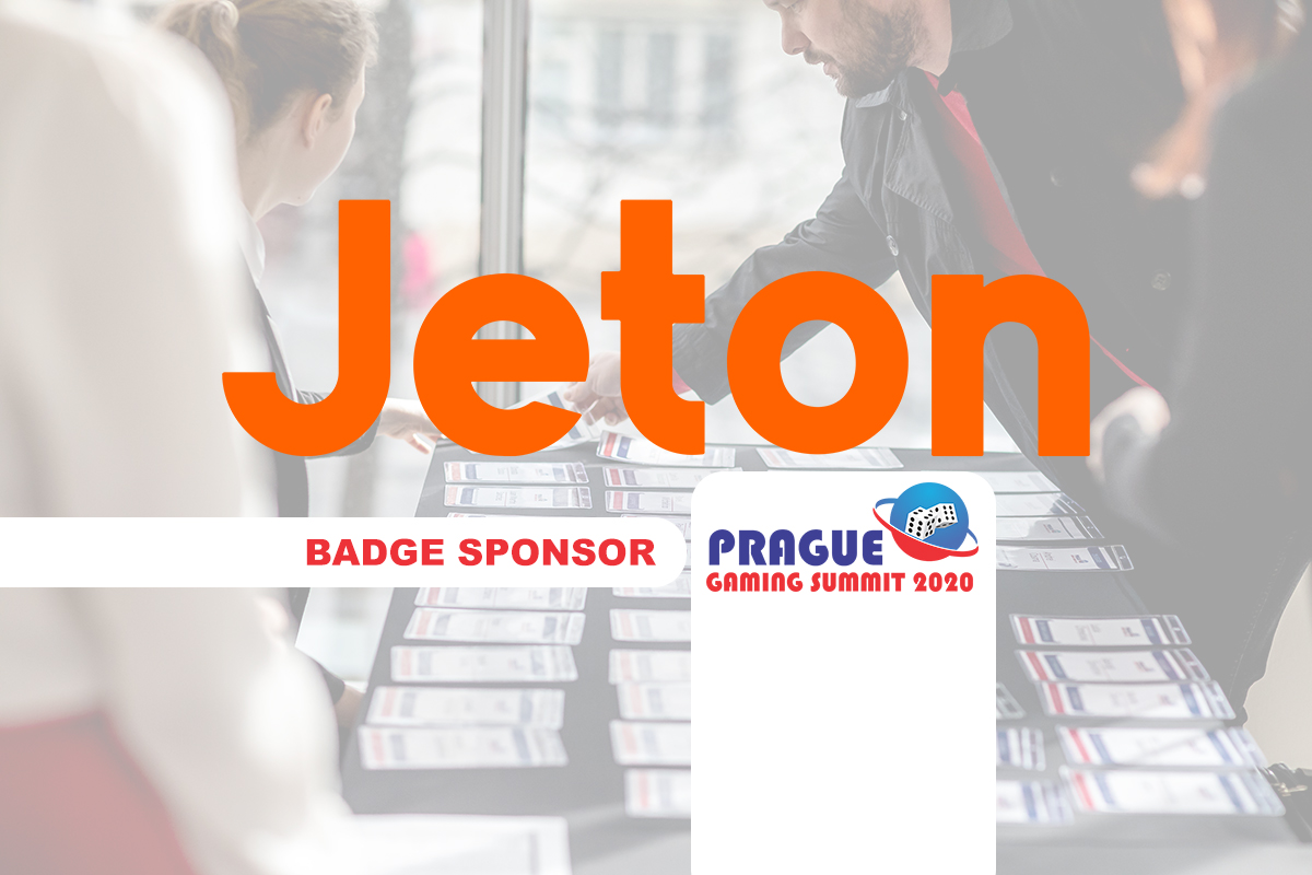 Prague Gaming Summit 2020 Sponsor profile – Jeton (Badge Sponsor)