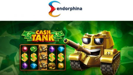 Endorphina's newest CASH TANK game marches to the front line!