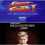 Hell's Kitchen and Street Fighter II Slot Games Announced by NetEnt