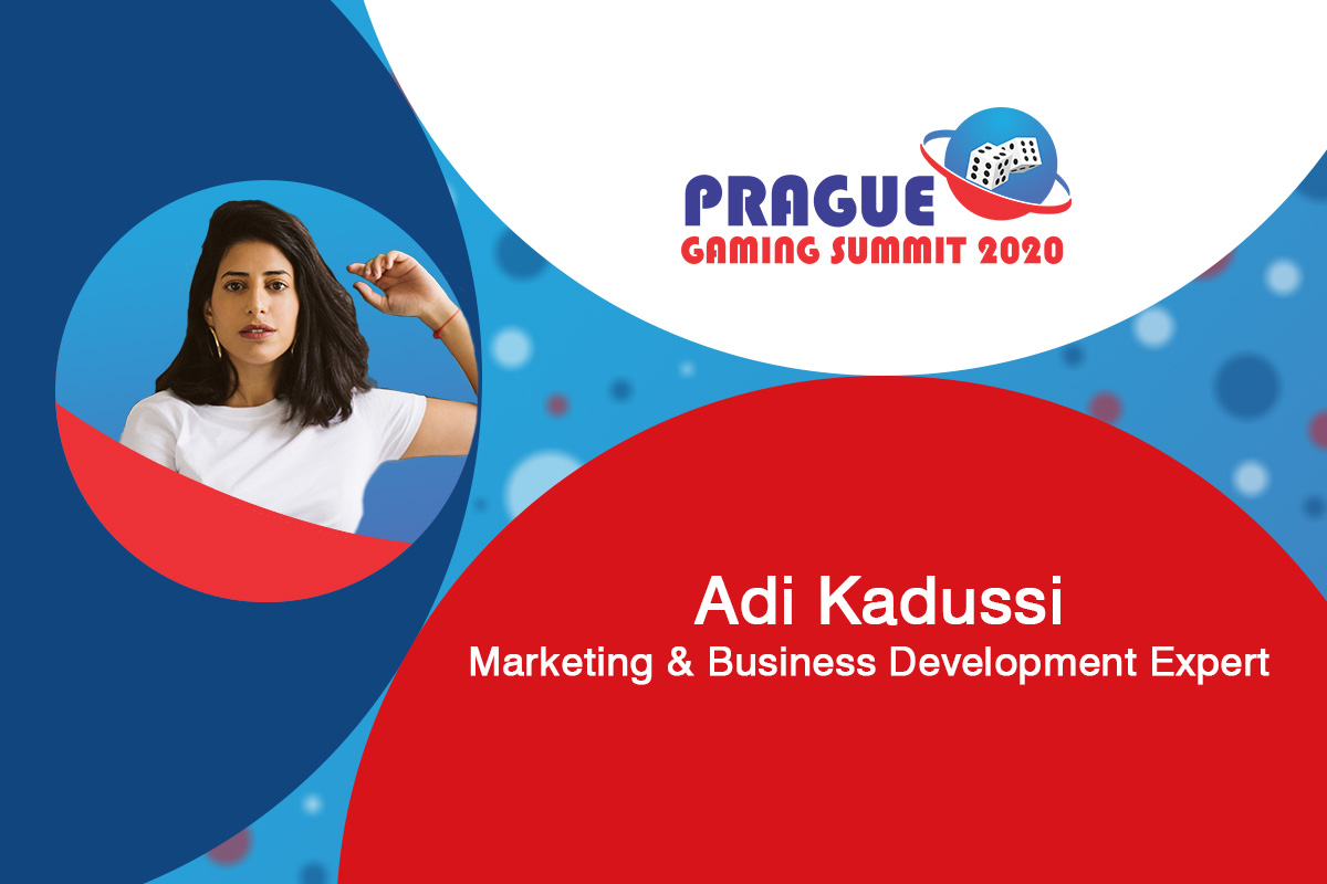 Prague Gaming Summit 2020 speaker profile: Adi Kadussi (Marketing & Business Development Expert)