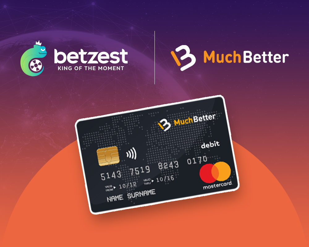 Online Casino and Sportsbook BETZEST™ goes live with Payment Provider MuchBetter