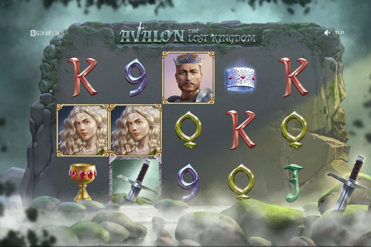 BGAMING Launches Avalon: The Lost Kingdom slot