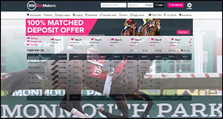 Fixed-odds betting alliance for New Jersey's Monmouth Park Racetrack