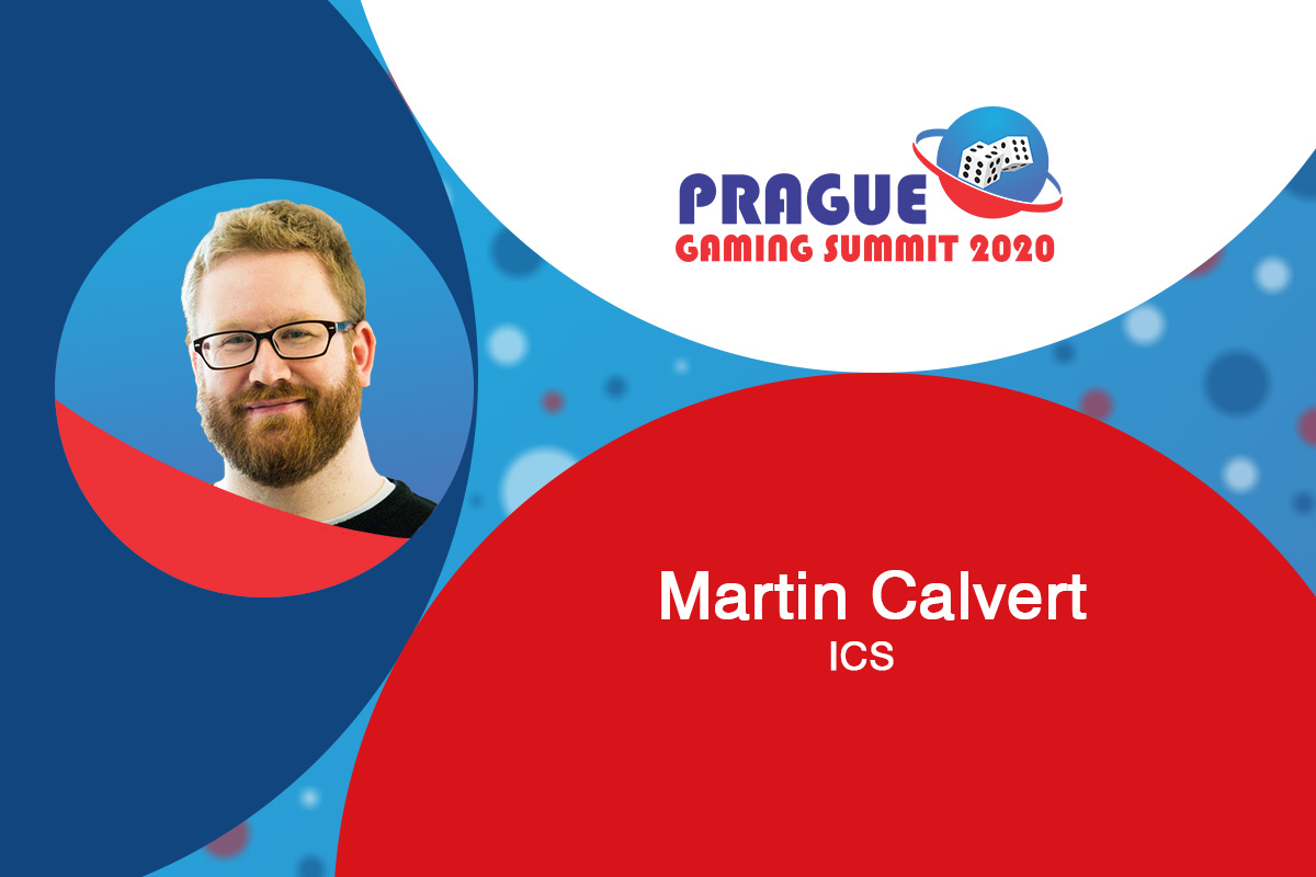 Prague Gaming Summit 2020 speaker profile: Martin Calvert (Marketing Director at ICS)