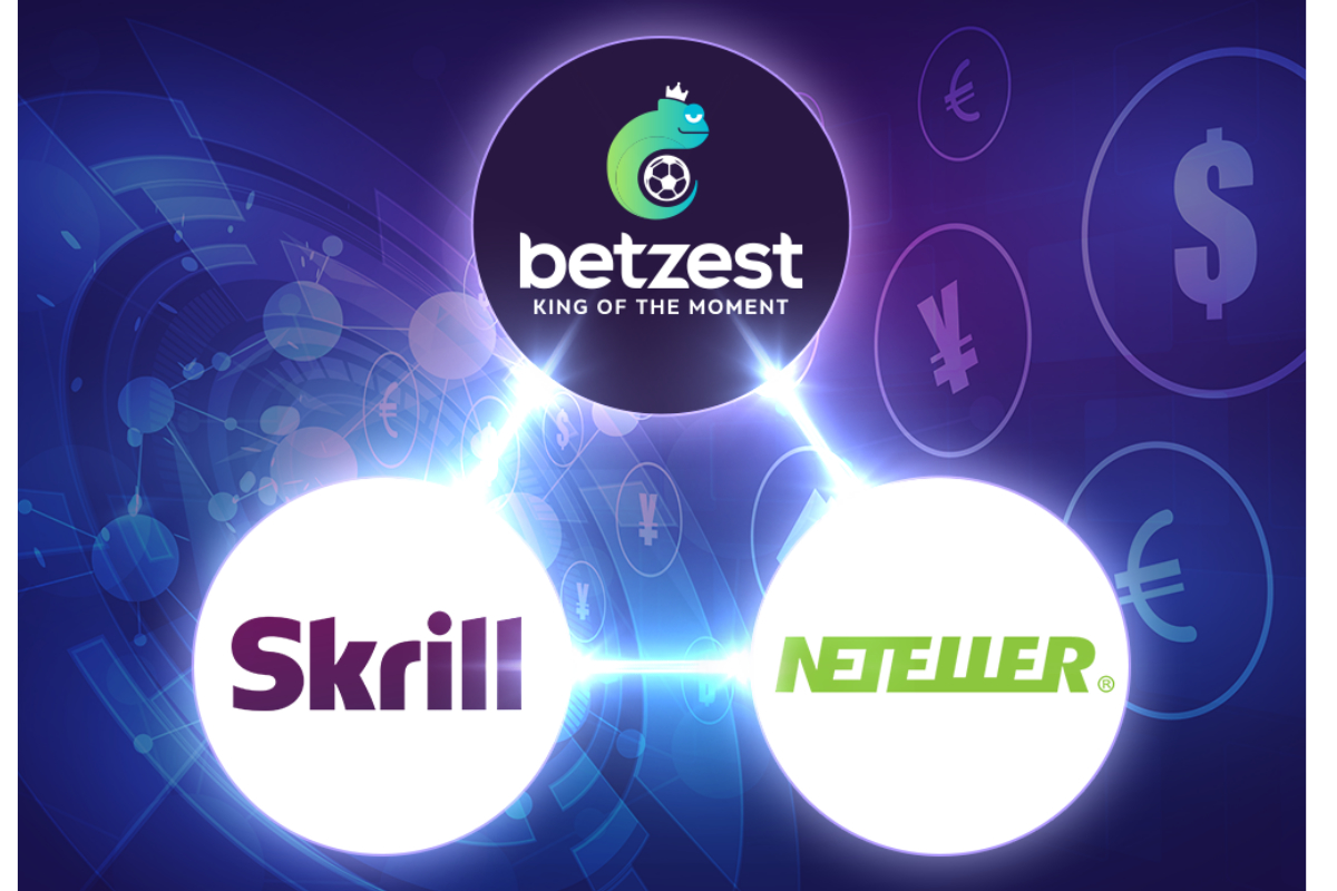 Online Casino and Sportsbook BETZEST™ goes live with payment providers Skrill and Neteller