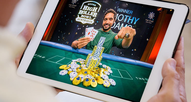 Timothy Adams defeats Kahle Burns to win Super High Roller Bowl Australia