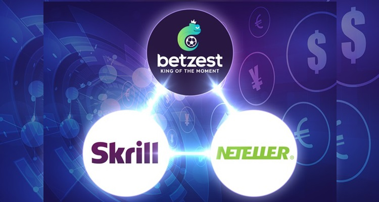 Neteller and Skrill to provide payment services for popular online sportsbook and casino Betzest