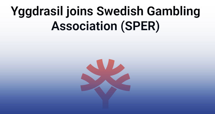 Yggdrasil Gaming approved for membership to Swedish Gambling Association
