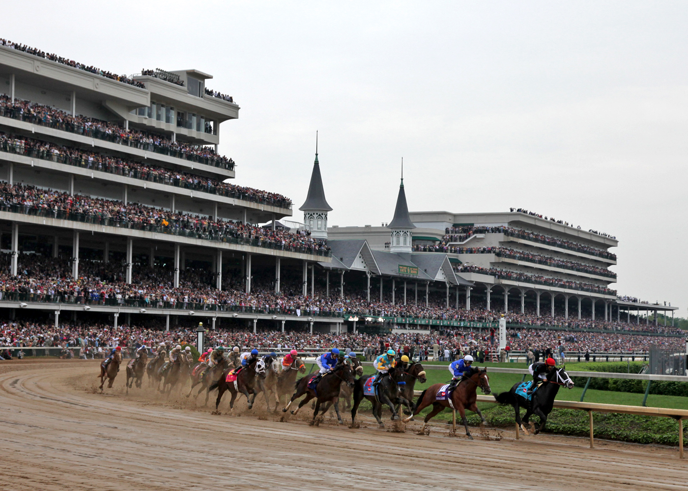 Churchill Downs results up