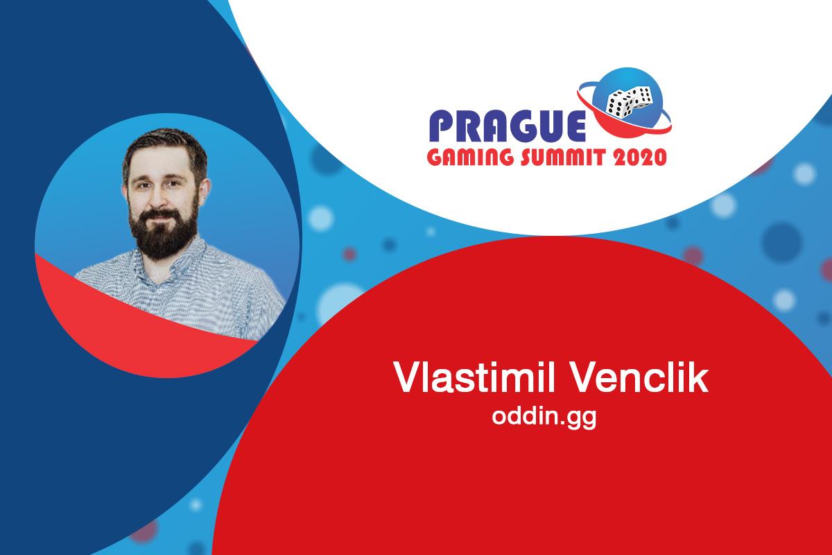 Prague Gaming Summit 2020 speaker profile: Vlastimil Venclik (CEO at oddin.gg)