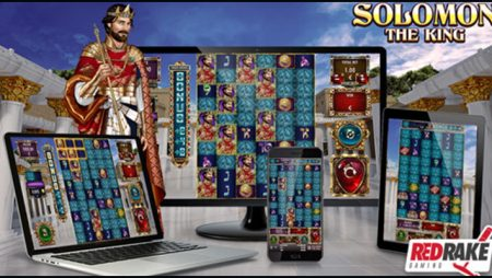 Red Rake Gaming introduces new Solomon: The King video slot