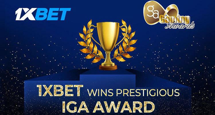 1xBet named Sports Betting Platform of the Year via IGA awards