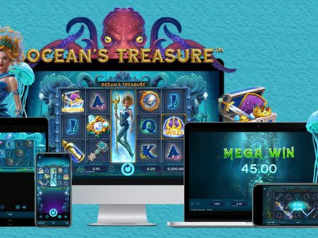 Submerge underwater and awaken the Kraken in NetEnt's latest online slot release Ocean's Treasure