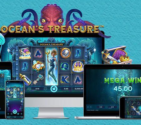 Submerge underwater and awaken the Kraken in NetEnt's latest online slot release Ocean's Treasure